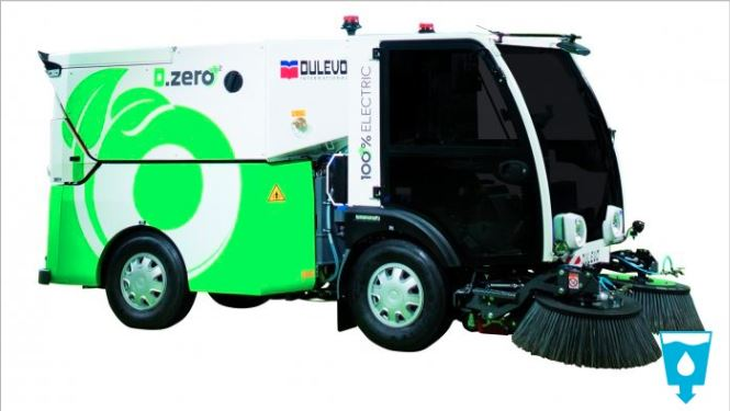 Electric Street Sweeper - SolidWorks