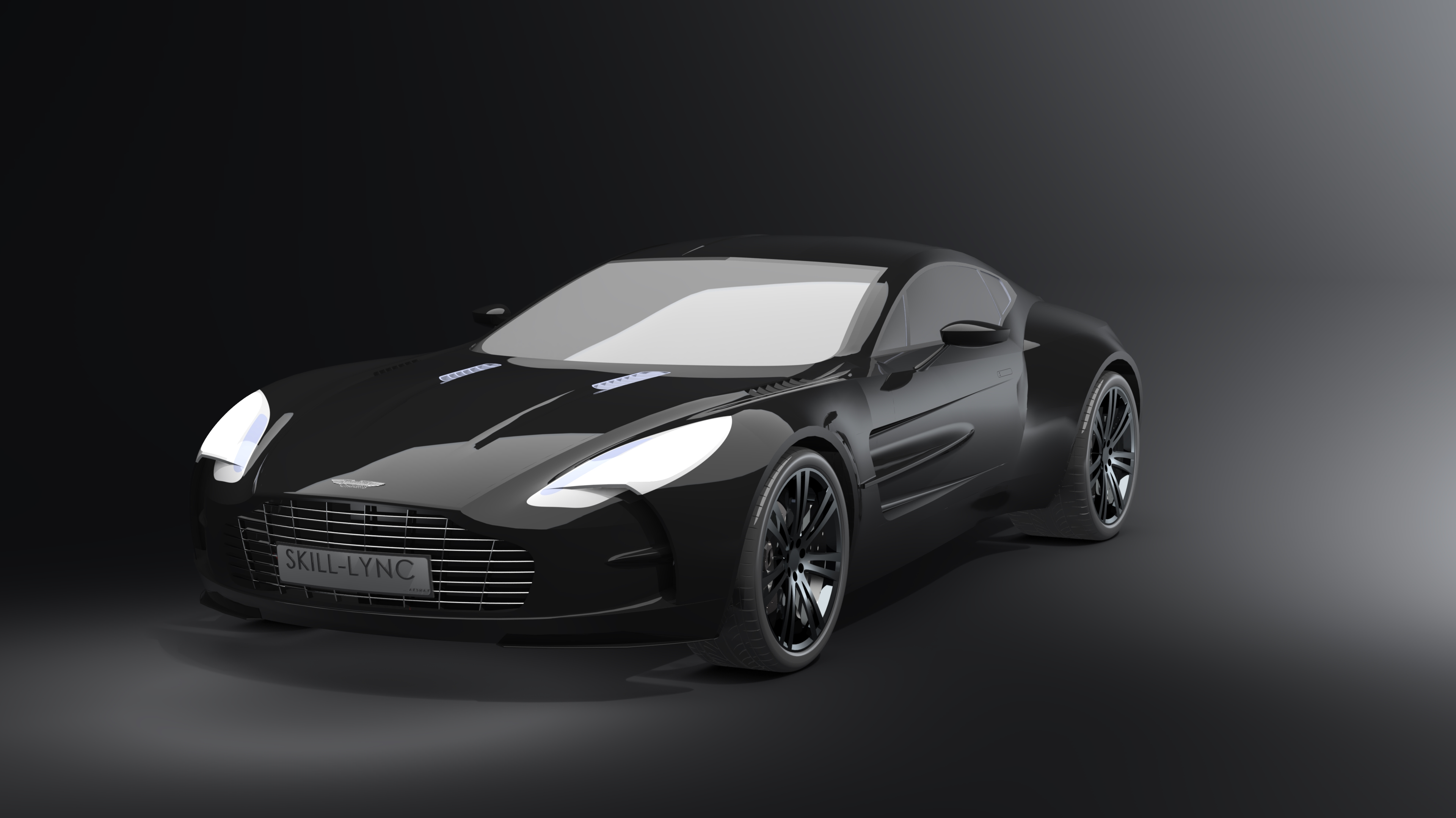 Surface Modelling Of An Aston Martin One 77 Using Solidworks Skill Lync